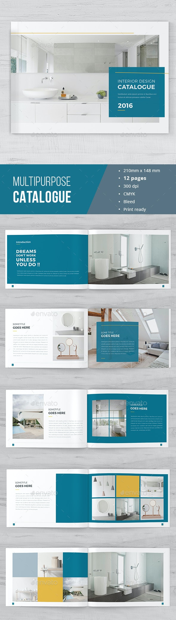 Minimal Catalogue Brochure - Catalogs Brochures