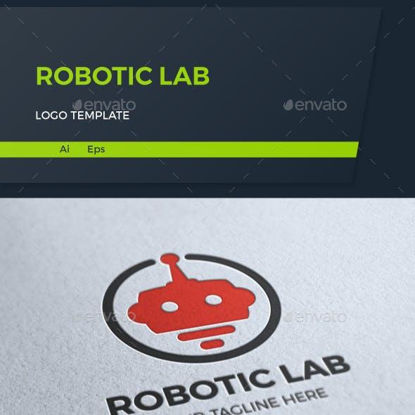 Robotic Lab Logo Template