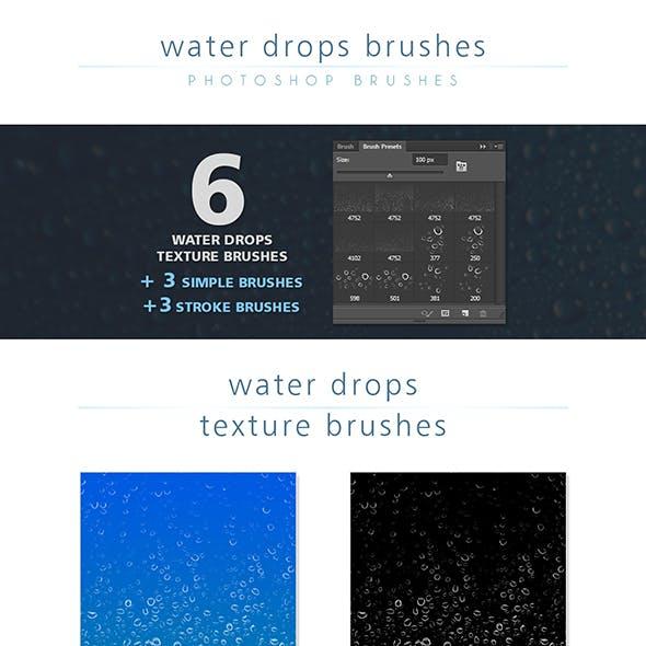 Water Drops Brush