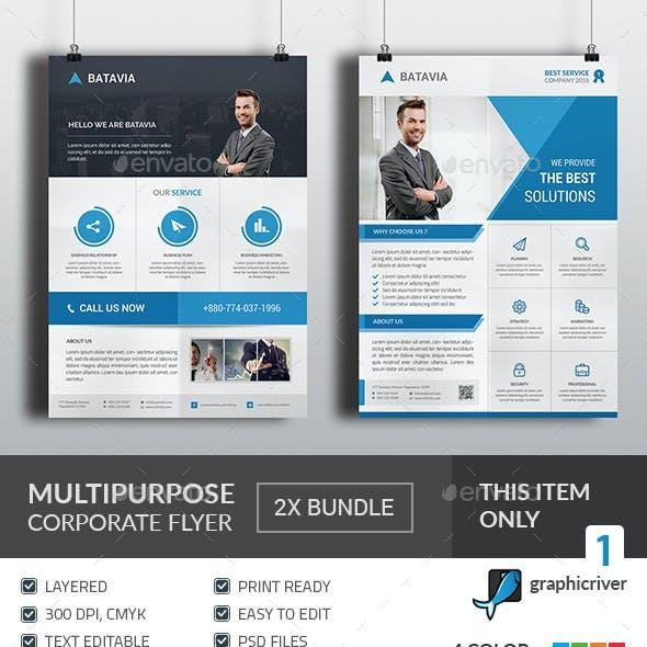 Multipurpose Corporate Flyer Bundle