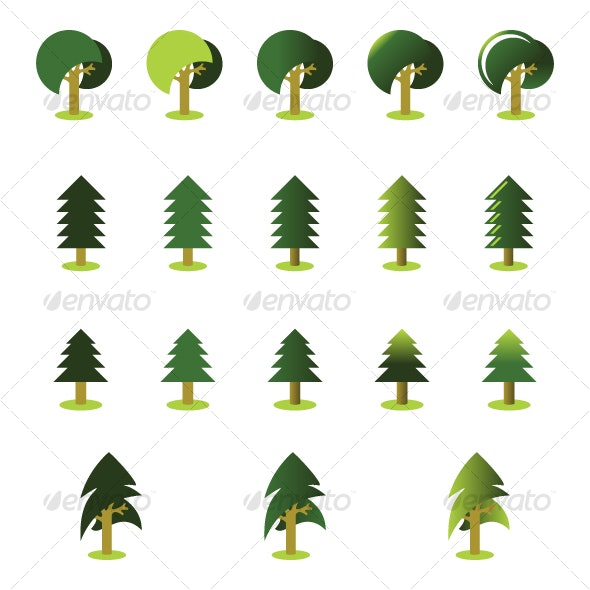 Cutrees 2 - Tree pack - Organic Objects Objects