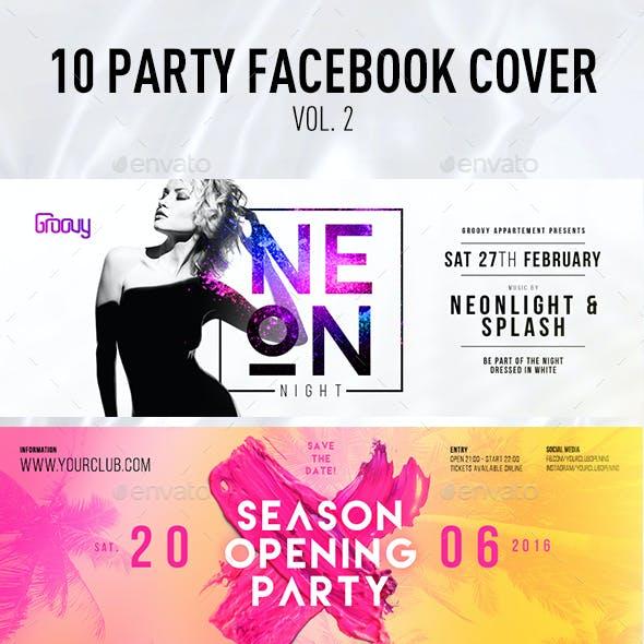 10 Party Facebook Cover Vol.2