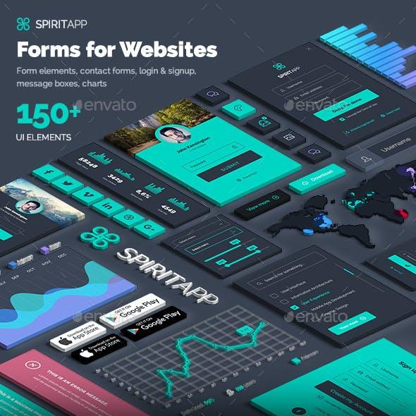 SpiritApp Form Elements for Websites