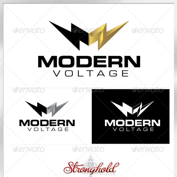 Electrical Company Logo Template