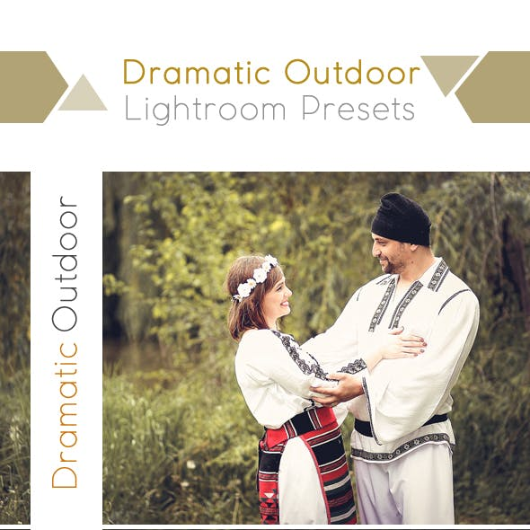 Dramatic Outdoor Lightroom Presets