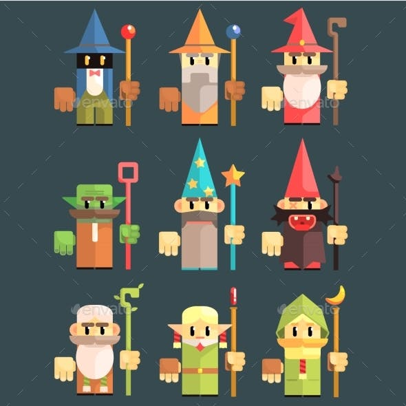 Flash Game Wizard Set