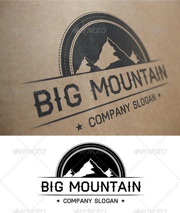 Big Mountain Logo - Nature Logo Templates