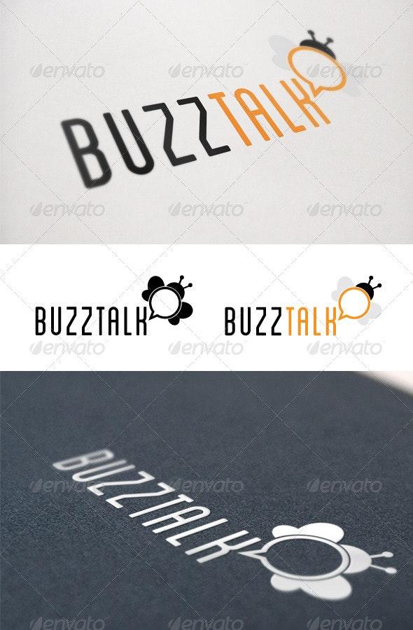 Buzz Talk Logo - Nature Logo Templates