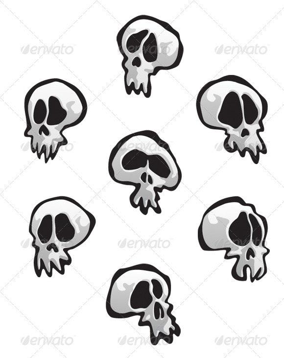 Seven Skulls - Characters Vectors
