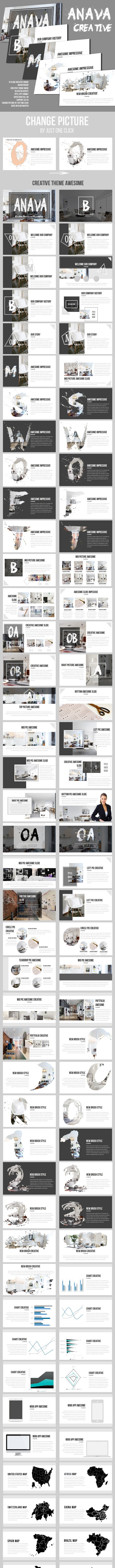 Anava Creative Powerpoint Presentation - Business PowerPoint Templates