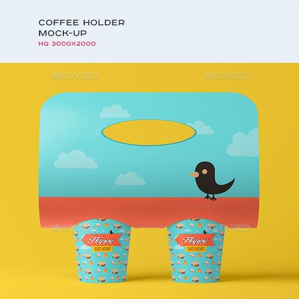 Coffee Holder / Packaging Mock-up