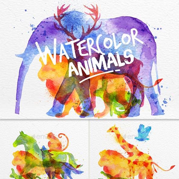 Animals Overprint
