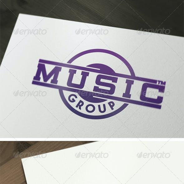 Music Group Logo Template V2