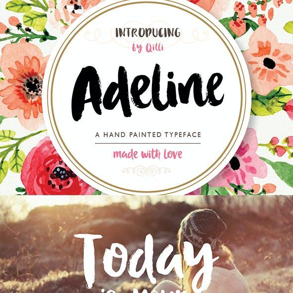 Adeline Typeface - Brush Script