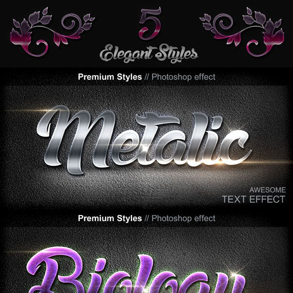 Luxury Text Styles V16