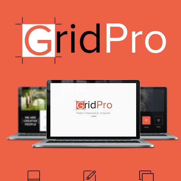 Grid Pro PowerPoint Template