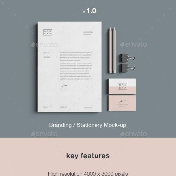 Stationery & Branding Mockup