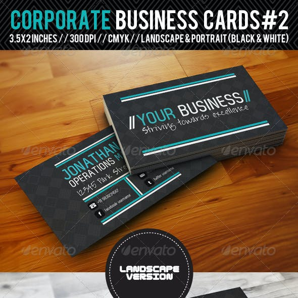 Corporate Business Cards#2