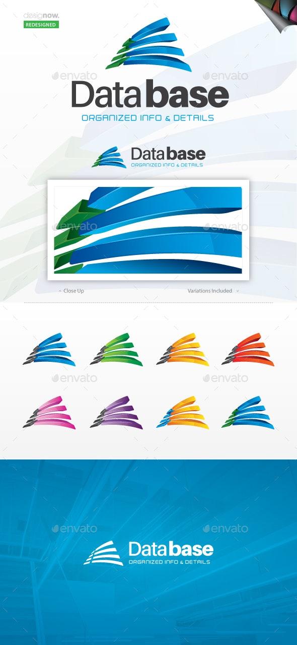 Database Logo - Abstract Logo Templates