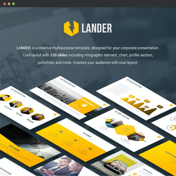 Lander - Powerpoint Template