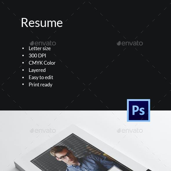 Resume Template-V16