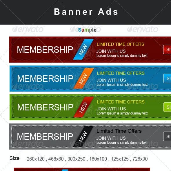 Web Banner Ads