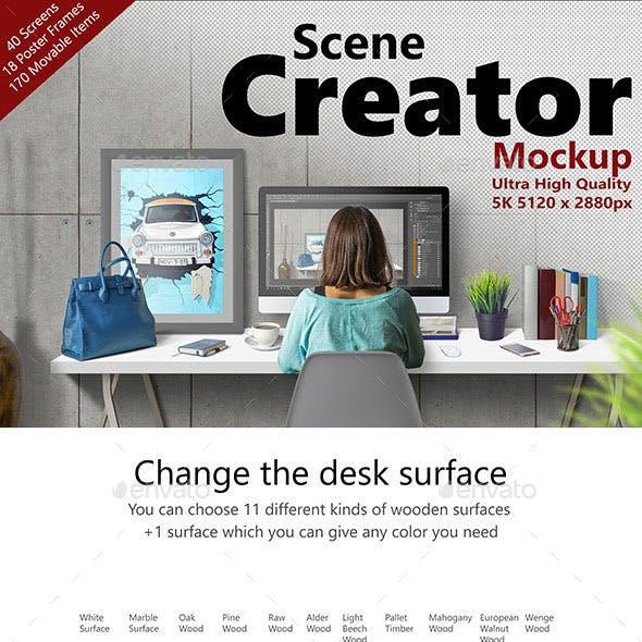 Scene Creator 5K Mockup