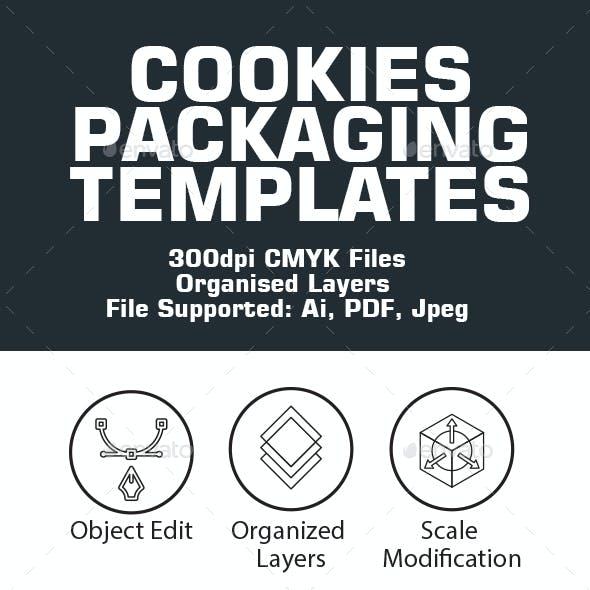 Cookies Packaging Template