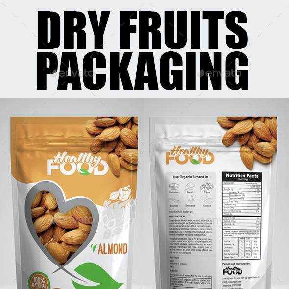 Dry Fuits Bag Packaging