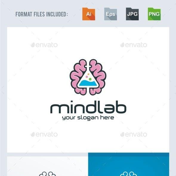 Mind Lab Logo Template