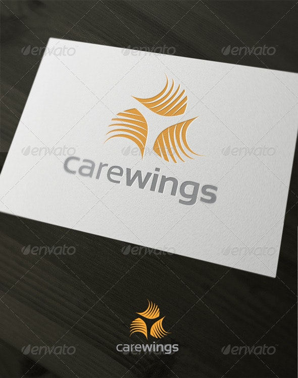 Care Wings - Abstract Logo Templates