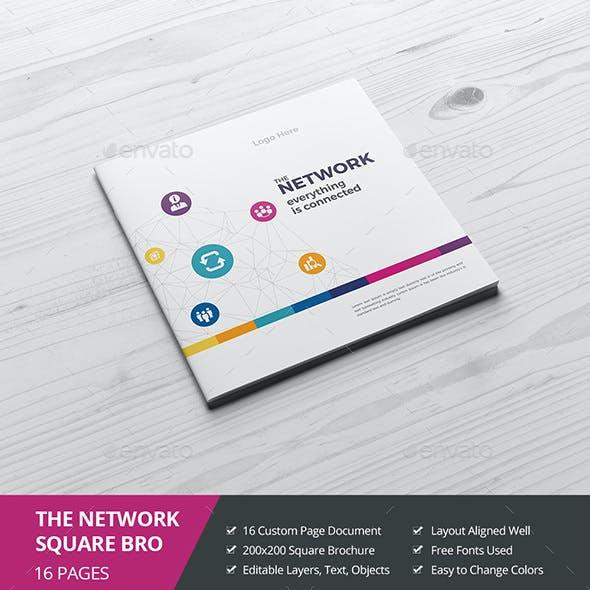 Haweya Colorful Square Brochure