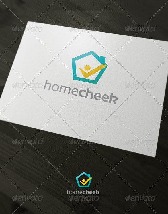 Home Cheek - Buildings Logo Templates