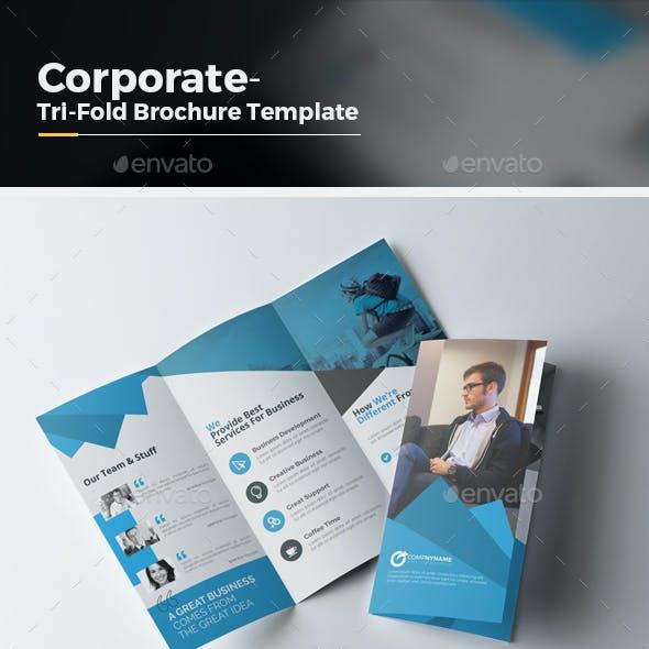 Tri Fold Multipurpose Brochure Template