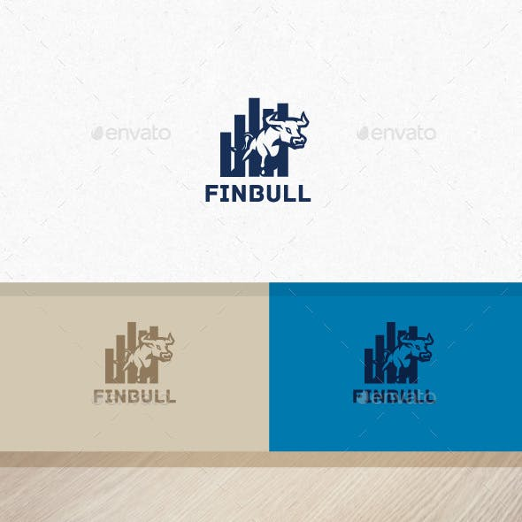 Financial Bull Logo
