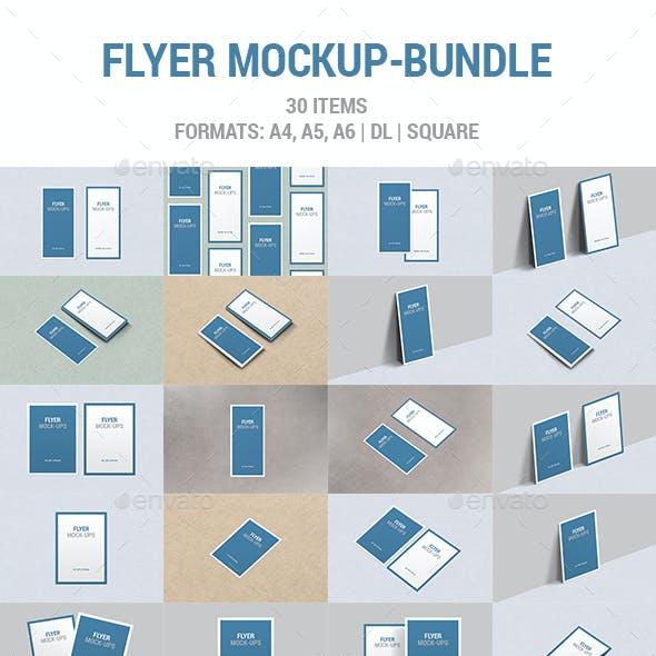 Flyer Mockup Bundle