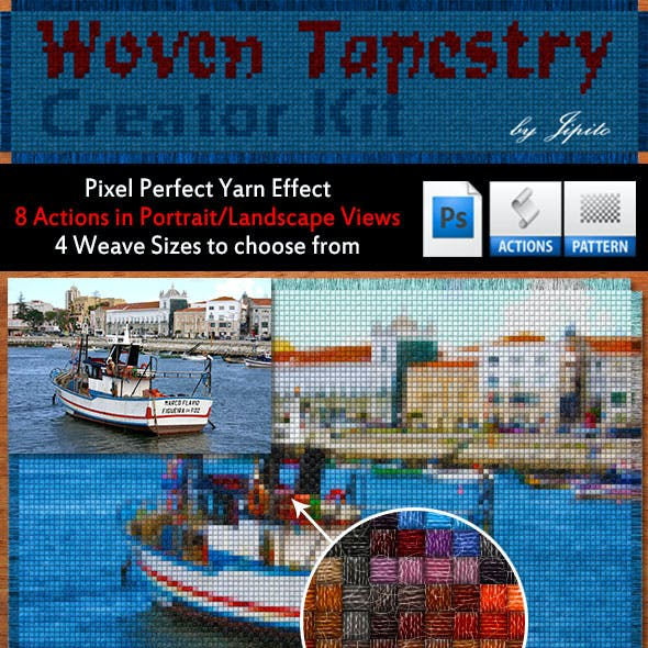 Woven Tapestry Creator