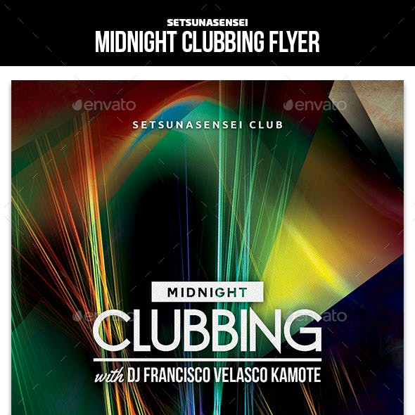 Midnight Clubbing Flyer