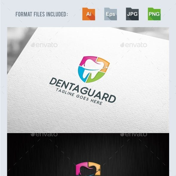 Dental Guard Logo Template