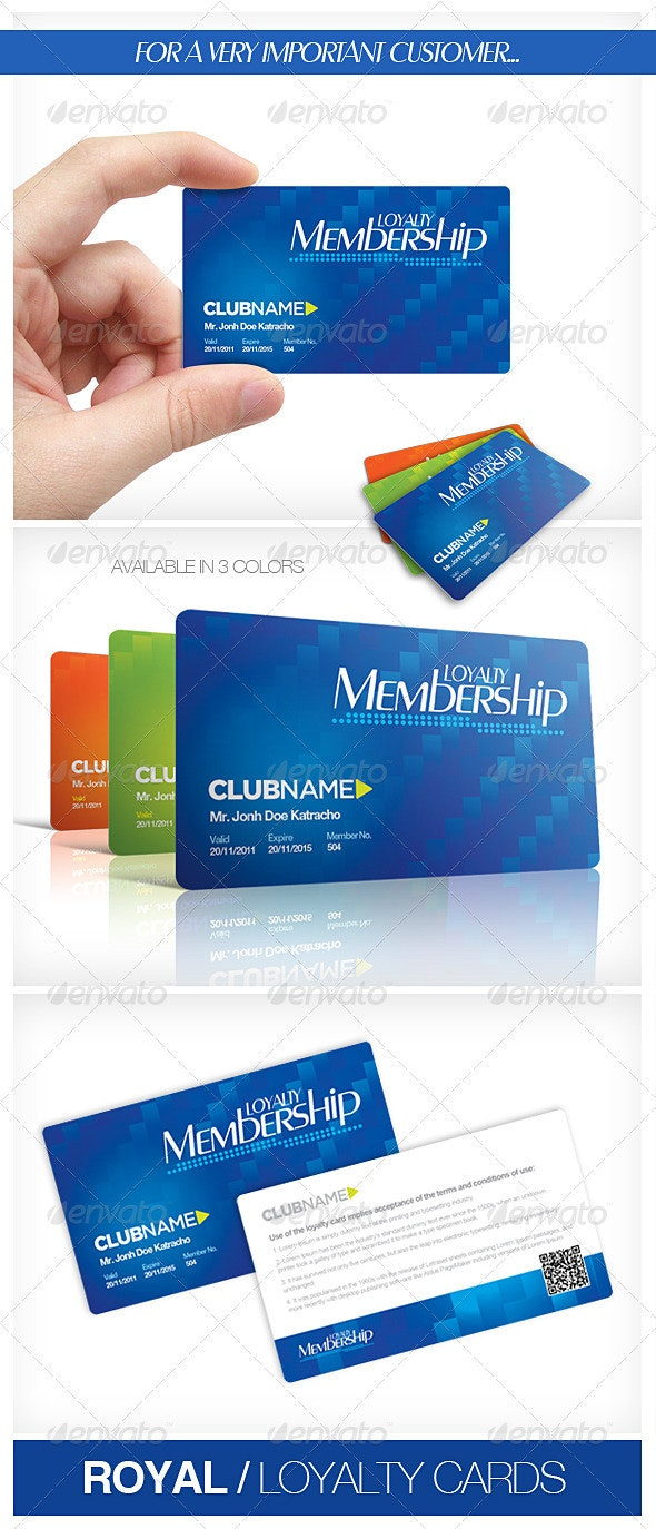 Royal Loyalty Cards - Loyalty Cards Cards & Invites