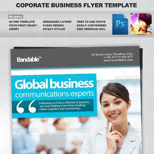 Corporate / Business PSD Flyer Template