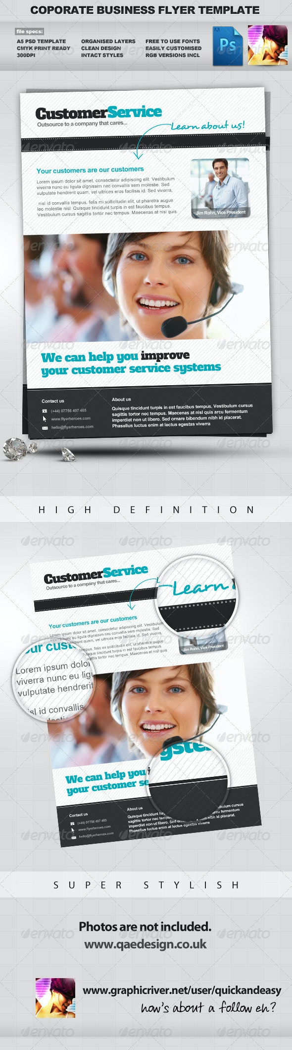 Corporate / Business PSD Flyer Template Vol. 2 - Corporate Flyers