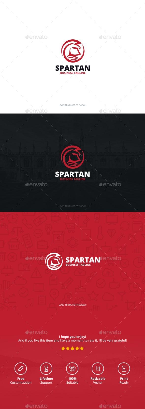 Spartan Logo - Logo Templates
