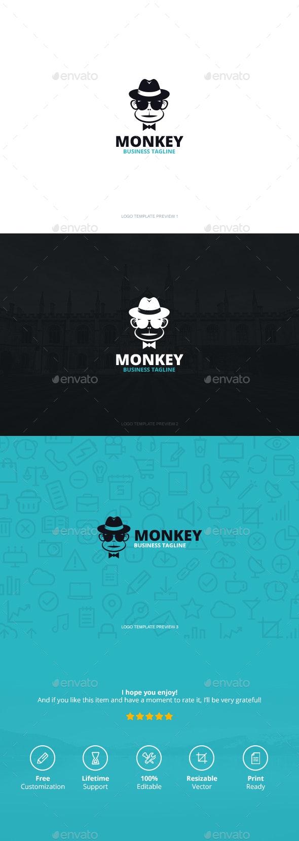 Monkey Logo - Logo Templates