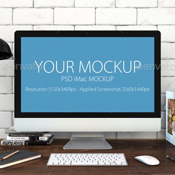Mac Mock-up in Loft Style
