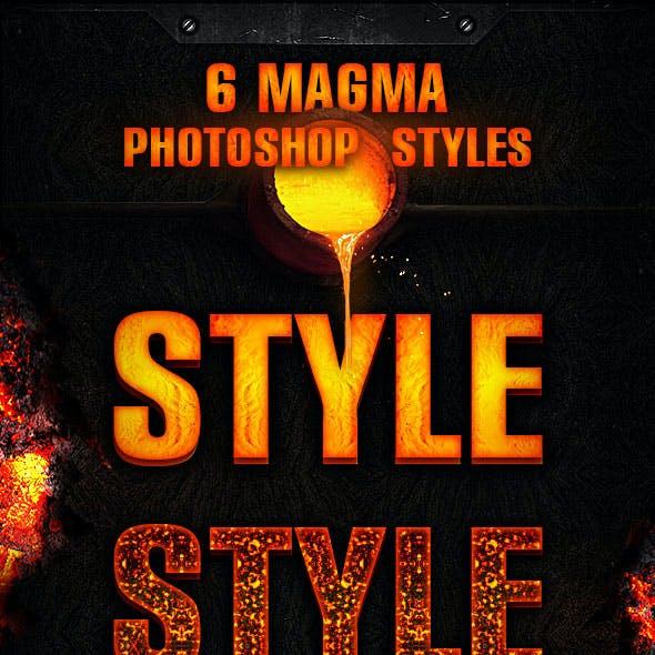 6 Magma Styles