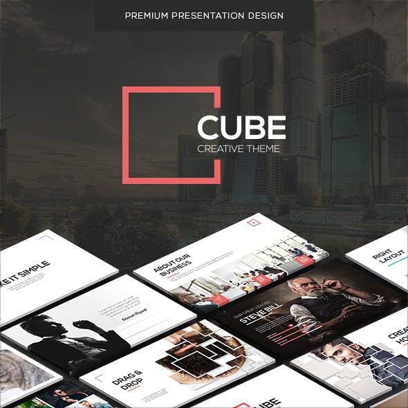 CUBE - Creative Theme