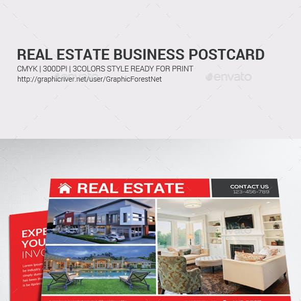 Real Estate Postcard Psd
