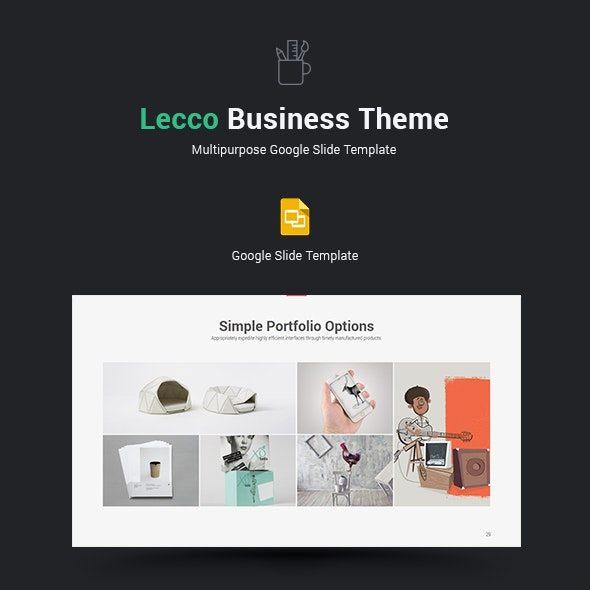 Lecco Multipurpose Google Slide Theme - Google Slides Presentation Templates