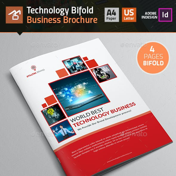 Technology Bifold Brochure_4 Pages